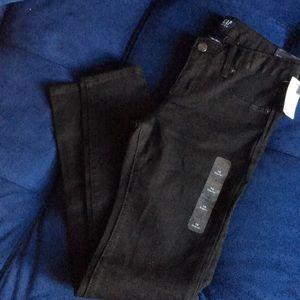 Gap super skinny black jeans